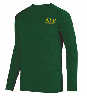 Alpha Gamma Rho- $20 World Famous Dry Fit Tonal Long Sleeve Tee