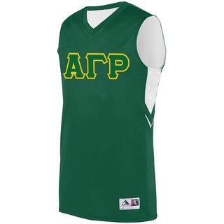 DISCOUNT-Alpha Gamma Rho Alley-Oop Basketball Jersey