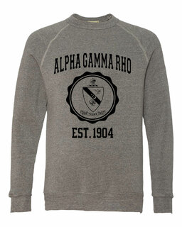 Alpha Gamma Rho Alternative - Eco-Fleece� Champ Crewneck Sweatshirt