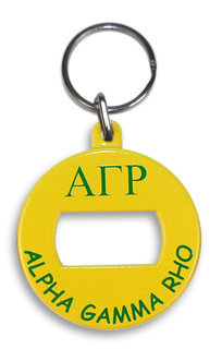 Alpha Gamma Rho BevKey Key Chain