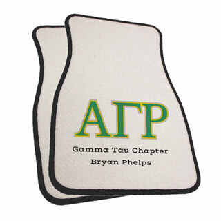 Alpha Gamma Rho Car Mats