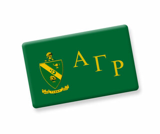 Alpha Gamma Rho Ceramic Flag Magnet