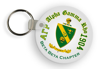 Alpha Gamma Rho Color Keychains