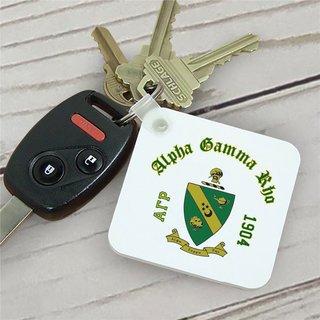 Alpha Gamma Rho Color Keychains