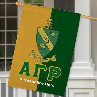 Alpha Gamma Rho Crest House Flag