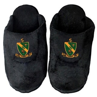 Alpha Gamma Rho Crest Slippers