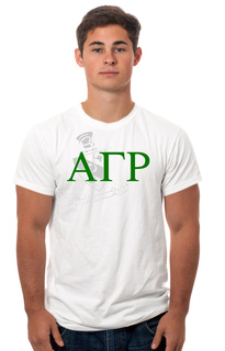 Alpha Gamma Rho Crest - Shield Tee