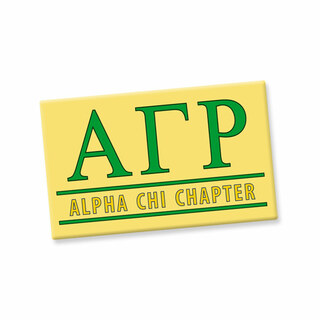 Alpha Gamma Rho Custom Ceramic Magnet