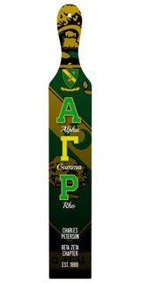 Alpha Gamma Rho Custom Full Color Paddle