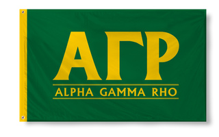 Alpha Gamma Rho Custom Line Flag
