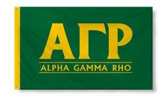 Alpha Gamma Rho Custom Line Flag