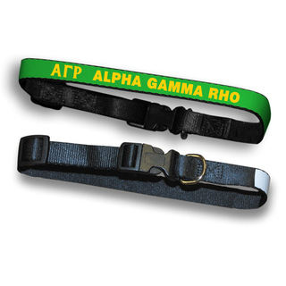 Alpha Gamma Rho Dog Collar