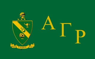 Alpha Gamma Rho Flag Decal Sticker