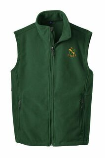 Alpha Gamma Rho Fleece Crest - Shield Vest