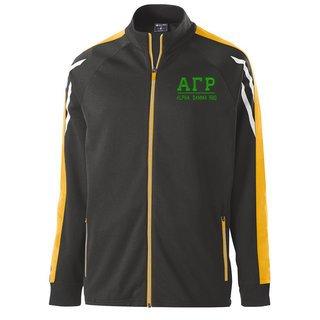 Alpha Gamma Rho Flux Track Jacket