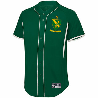 Alpha Gamma Rho Game 7 Full-Button Baseball Jersey