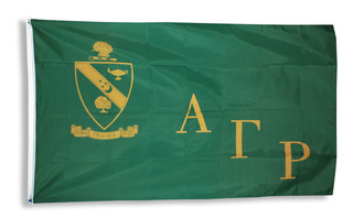 Alpha Gamma Rho Giant 3 x 5 Flag