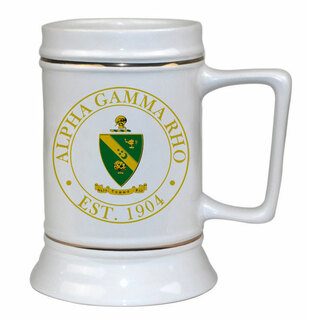 Alpha Gamma Rho Ceramic Stein