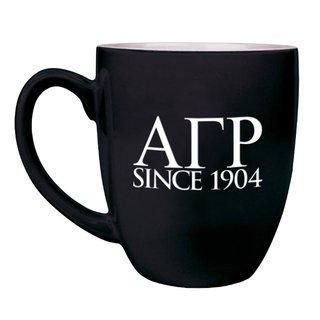 Alpha Gamma Rho Greek Bistro Mug
