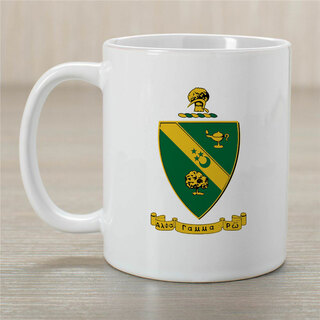 Alpha Gamma Rho Greek Crest Coffee Mug