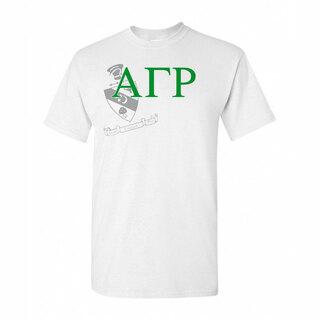 Alpha Gamma Rho Greek Crest - Shield T-Shirt