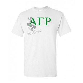 Alpha Gamma Rho Greek Crest - Shield T-Shirt