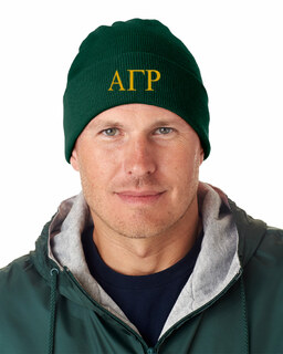 Alpha Gamma Rho Greek Letter Knit Cap