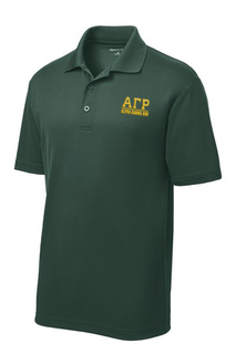 Alpha Gamma Rho Greek Letter Polo's