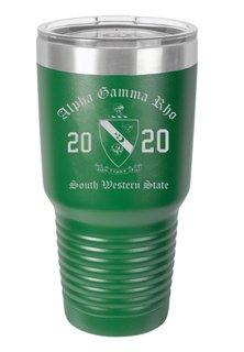 Alpha Gamma Rho Insulated Tumbler