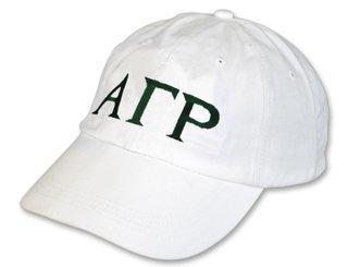 Alpha Gamma Rho Letter Hat