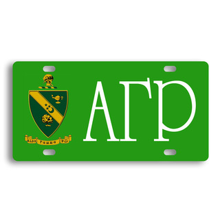 Alpha Gamma Rho License Cover