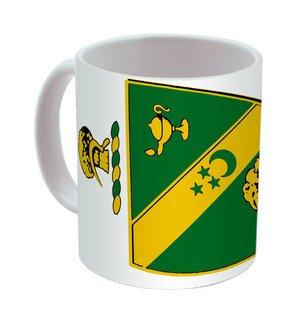 Alpha Gamma Rho Mega Crest - Shield Coffee Mug