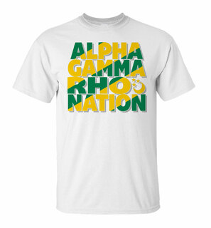 Alpha Gamma Rho Nation T-Shirt