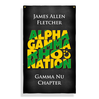 Alpha Gamma Rho Nations Giant Flag