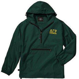 Alpha Gamma Rho Pack-N-Go Pullover