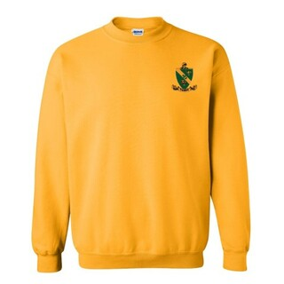 DISCOUNT-Alpha Gamma Rho Patch Crewneck