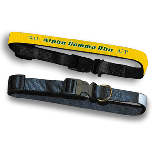 Alpha Gamma Rho Pet Collar