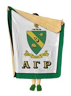 Alpha Gamma Rho Sherpa Lap Blanket