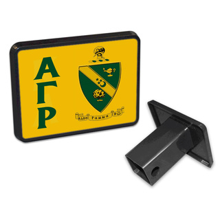Alpha Gamma Rho Trailer Hitch Covers