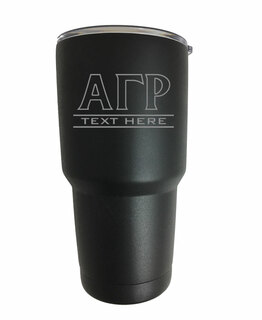Alpha Gamma Rho Vacuum Insulated Tumbler