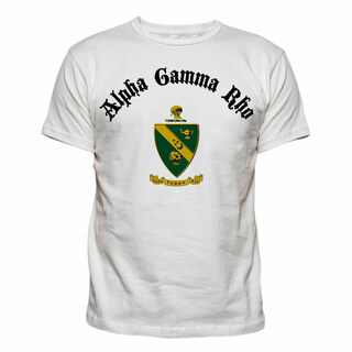 Alpha Gamma Rho Vintage Crest - Shield T-shirt