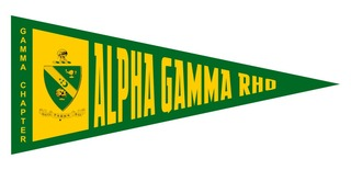 Alpha Gamma Rho Wall Pennants