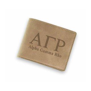 Alpha Gamma Rho Fraternity Wallet