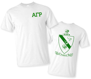 Alpha Gamma Rho World Famous Crest - Shield Tee