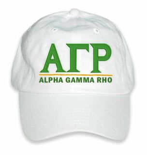 Alpha Gamma Rho World Famous Line Hat