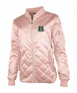 Alpha Kappa Alpha Quilted Flight Jacket