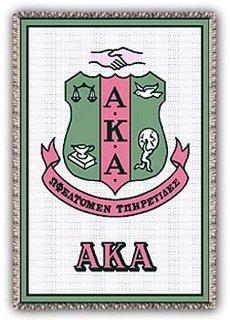 Alpha Kappa Alpha Afghans Blanket Throw