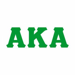 Alpha Kappa Alpha Big Greek Letter Window Sticker Decal
