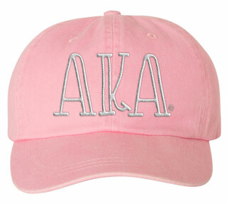 Alpha Kappa Alpha Carson Greek Letter Hats