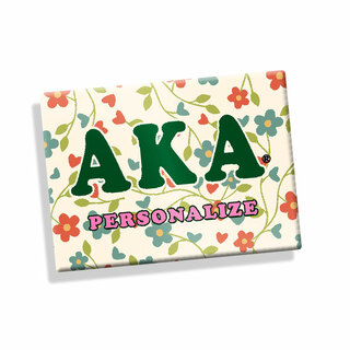 Alpha Kappa Alpha Ceramic Magnet